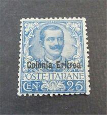 nystamps Italy Eritrea Stamp # 24 Mint OG H $1200   N27x3064