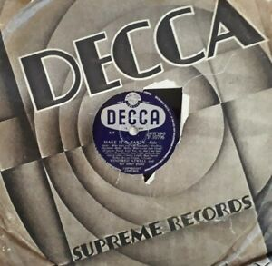"Winifred Atwell-Make It A Party Shellac 10"" 78 RPM Record.1956 Decca F 10796."
