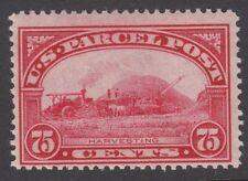 Stati Uniti d'America: 1913 pacco postale 75c Carmine-rose Scott #q11 Nuovo di zecca