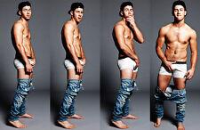 NICK JONAS  HOT beefcake Nude male rare PHOTO  8X11 BUY 2, GET 1 FREE