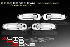 02-08 Dodge RAM Chrome 4 Door Handle Cover w/ PSG Keyhole