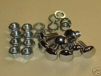 """Lotus Cortina Bumper Bolts, Escort, Anglia 3/4"""" High Quality Stainless Steel"""