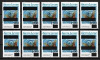 Sierra Leone Animals Insects Butterflies Moths MNH - Military Coup Rare Stamps