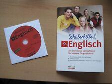 Schülerhilfe Lernsoftware Englisch 9. Klasse mit Grammatik Begleitheft