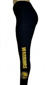 Warriors Black Legging. Shiny Lettering on 1 side on the leg. Great on Game Day!