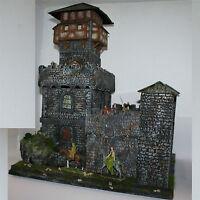 Ritter-Burg Wolfenstein 1571, zu 7cm Sammelfiguren, Fertigmodell in Composite