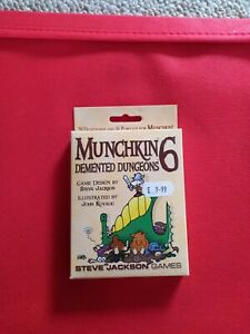 Munchkin 6 Demented Dungeons add on pack