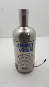 Absolut Vodka Advertising Single Bottle Display Fridge
