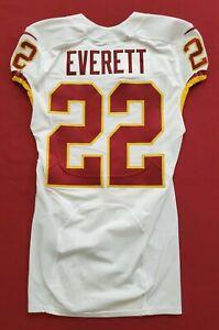 #22 Deshazor Everett of Washington Redskins Player Worn Jersey