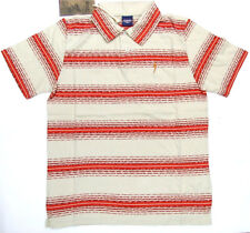 Lightning Bolt Polo Styled Shirt Cherry Tomato Lightning Bolt 100% Cotton Bolt