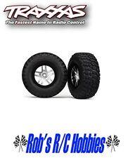TRAXXAS Tire & Wheel Chrome (2): R 2WDSlash, Slash 4x4 (TRA6873)