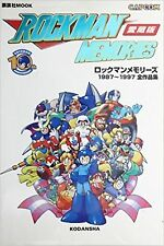ART BOOK ROCKMAN MEMORIES 1987~1997 Mega Man Japan