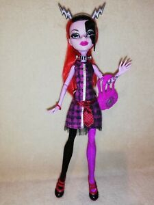 Monster High Operetta - Freaky Fusion. EX DISPLAY ONLY PERFECTION WITH STAND!