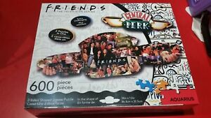 Friends Central Perk - 2 sided shaped 600 Piece Jigsaw Puzzle