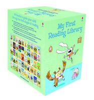 Usborne My First Reading Library 50 Books Set Collection - Read At Home (Green)