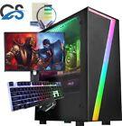 Fast Gaming Pc Computer Bundle Quad Core I7 8gb 1tb Windows 10 Nvidia Gtx1660