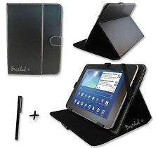 Black PU Leather Case Stand for WayteQ xTAB-100 10.1'' inch Tablet PC + Extras