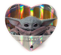 Star Wars Mandalorian Baby Yoda ❤️ Valentines Day Heart Chocolate *Same-Day Ship