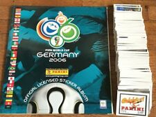 GERMANY 2006 PANINI Empty Album + Stickers SET cromos world cup copa oro wc wm