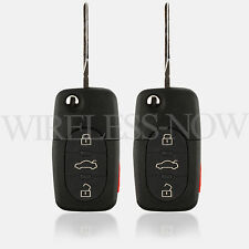 2 Car Key Fob Keyless Remote For 1998 1999 200 2001 2002 Volkswagen VW Cabrio
