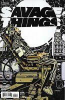 Savage Things Comic Issue 4 Modern Age First Print 2017 Jordan Moustafa Boyd