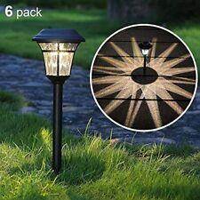 Maggift 8 Lumens Solar Garden Lights Solar Landscape Lights Solar Pathway Lights