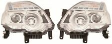 Nissan X-Trail 2011-2015 Chrome Front Headlight Headlamp Pair Left & Right
