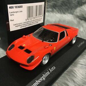 Minichamps 1:43 Lamborghini Miura Jota 1970 Rosso Red 400-103680
