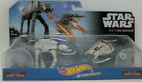 Hotwheels Starships Star Wars AT-AT vs. Rebel Snowspeeder