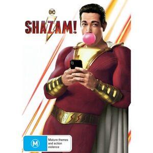 Shazam! (DVD, 2019) NEW AND SEALED DVD