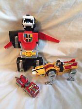 VINTAGE 1980s VOLTRON Black Yellow Red Lion Parts Lot SUPER COOL