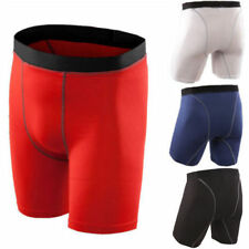 Men Compression Shorts Base layer Pants Workout Tight Sport Underwear Trousers