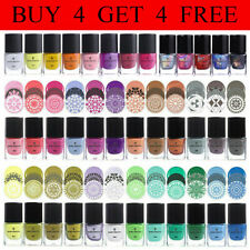 BORN PRETTY 6ml Nail Stamping Polish for Stamp Image Plates Nail Art Varnish