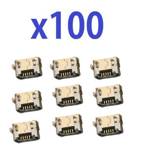 Lot 100 Micro USB Charger Port For Alcatel IdealXCITE CAMEOX 5044R 5044