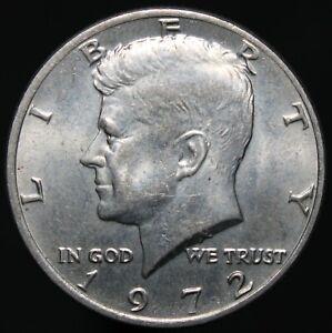 1972 | U.S.A. Kennedy Half Dollar | Cupro-Nickel Clad Copper | Coins | KM Coins
