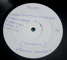PRINCE HAMMER VENGANCE 1985 UK LP MELINDA BC 2 WHITE LABEL