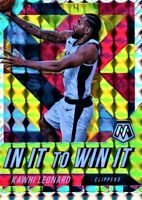Kawhi Leonard 2019-20 Panini Mosaic In It To Win It HOT Silver SSP Prizm Holo #3