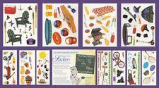 Creative Memories SUMMER FUN Sticker Pack - Pool, Camping, Sand Pit, Esky, Bike