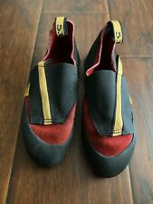 Kids Rock Climbing Shoes 5.10 Mini Moccs Stealth C4 Size 3 Great Condition
