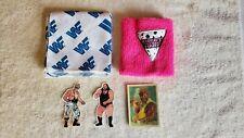 Vintage WWF WWE Rare Exclusive Fan Club Merchandise, Bandana Bret Hart Wristband