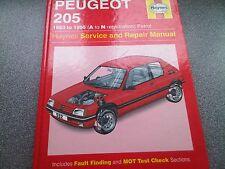 Peugeot 205 1983 to 1995 Petrol Haynes Service & Repair Workshop Manual