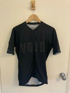Void cycling jersey mens black large