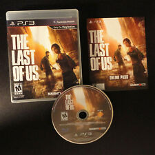 The Last of Us (Sony PlayStation 3, 2013) Case Insert Disc Complete CIB PS3 NTSC