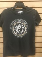 new Spiritual gangster GRAY S/S  LET YOUR SOUL GUIDE THE WAY SZ S