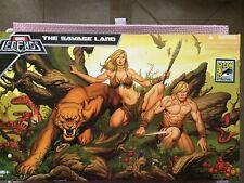 2008 SDCC Exclusive Marvel Legends SAVAGE LAND Box Set KA-ZAR Shanna ZABU