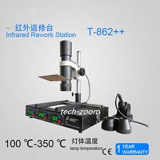 Updated T862++ IRDA Welder Infrared SMT SMD BGA Rework Station