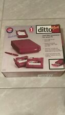 Factory Sealed Iomega Ditto Max 10609 With Flash File & Tapes 10617