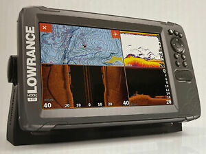Lowrance HOOK2-9 TripleShot Transducer and US Inland Maps Fishfinder