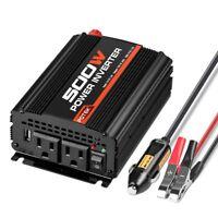 POTEK 3000W Power Inverter 4AC Outlets DC 12V to 110V AC Car Inverter 2USB Port