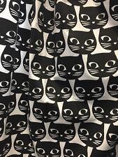 Ikea Mattram Designer Gardinenpaar Dekoschals m.Oesen 2 x 3m,2 Schals Katze NEU